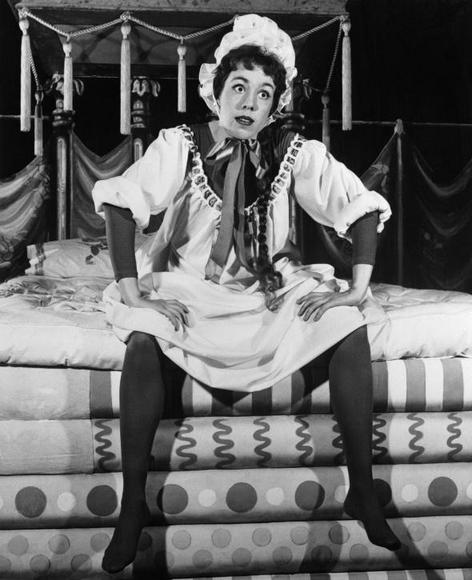 "Carol Burnett as Winifred in ""Once Upon a Mattress"""